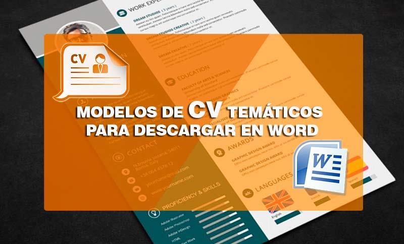 modelos de curriculum vitae-funcionales para descargar en word